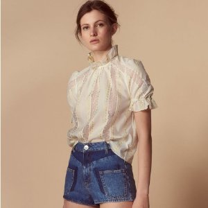 The Mother's Day Event! 25% OffCream Clothing Sale @ Sandro Paris