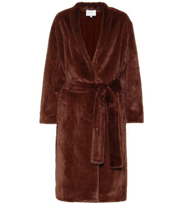 浴袍式外套