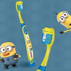 $3.19(原价$6.99)Colgate  高露洁小黄人儿童牙刷2支装