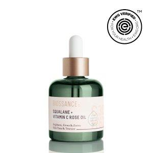 Squalane + Vitamin C Rose Oil - 30ml