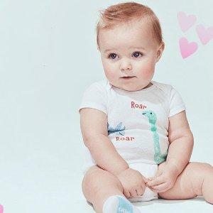 Carter's官网 儿童T恤、爬服、套装等开门抢购