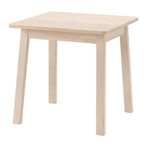(5) IKEA 餐桌:NORRÅKER Table