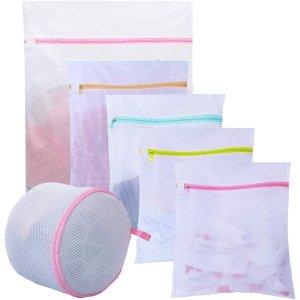 $8.99(原价$13.99)JClover 网状洗衣袋 6件装 保护衣服免受损坏 手慢无