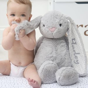 Dealmoon Exclusive: 20% OffPersonalized Baby Stuffed Animal Toy Sale @ My 1st Years