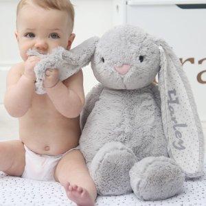 低至8折10周年独家:My 1st Years 定制毛绒玩具 宝贝的专属亲密小伙伴