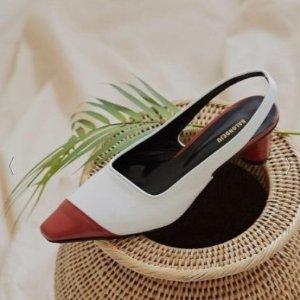 额外8.5折 封面款$100+最后一天:Salondeju 露跟鞋、金扣短靴热卖 优雅复古范儿