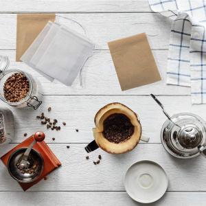 300个仅€9.99 泡茶、炖肉都能用Irich 一次性过滤茶袋 无漂白无异味 7cm×9cm 可长时间使用