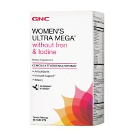 GNC 女性 Ultra Mega® 综合维生素(无铁&碘)