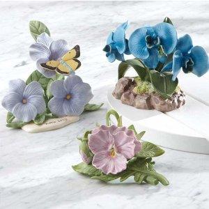 额外7.5折Lenox 精选陶瓷花朵装饰品热卖
