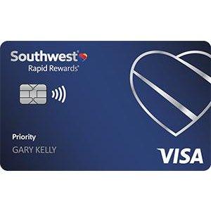 Earn 65,000 pointsSouthwest Rapid Rewards® Priority Credit Card