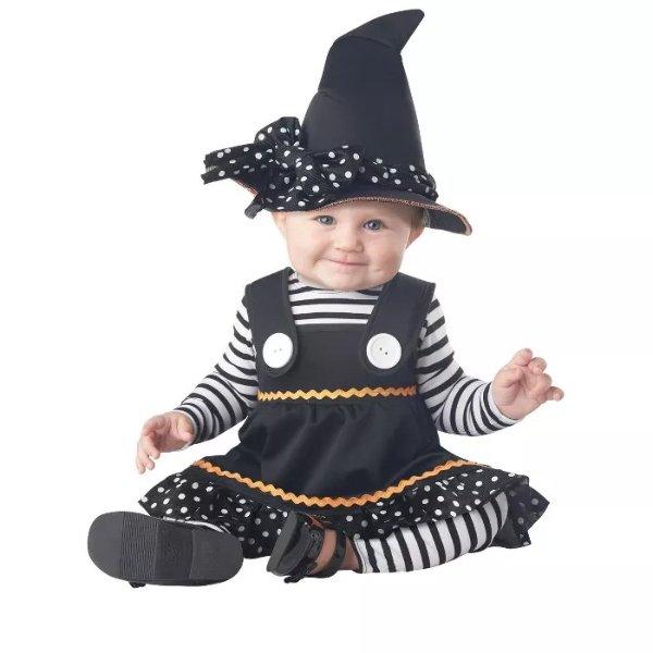 万圣节小女巫服饰