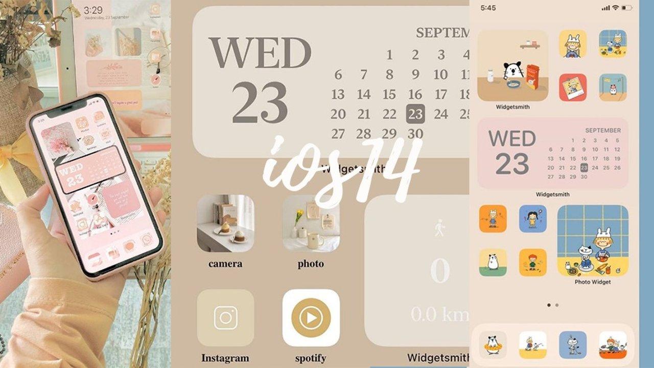 真香预警!iOS14桌面小程序来袭,手把手教你高颜值还实用的整理桌面方法!