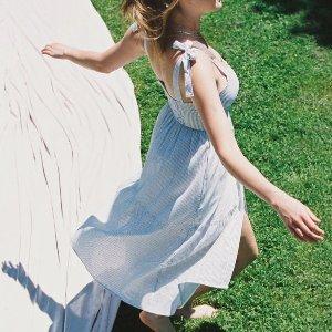 全场6折 折扣区低至2.4折最后一天:Urban Outfitters 美裙、连裤装特卖折上折 收仙女裙