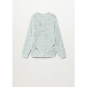 MangoChenille knit sweater - Teen | Mango Kids USA