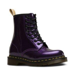 Dr Martens女款1460 黑紫色