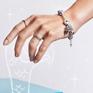 低至6.5折PANDORA Jewelry 清仓区串珠,耳钉,戒指等热卖