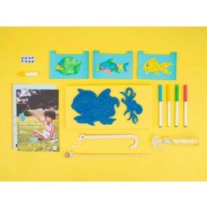 kiwico海底世界创意制作,适合年龄 3-4