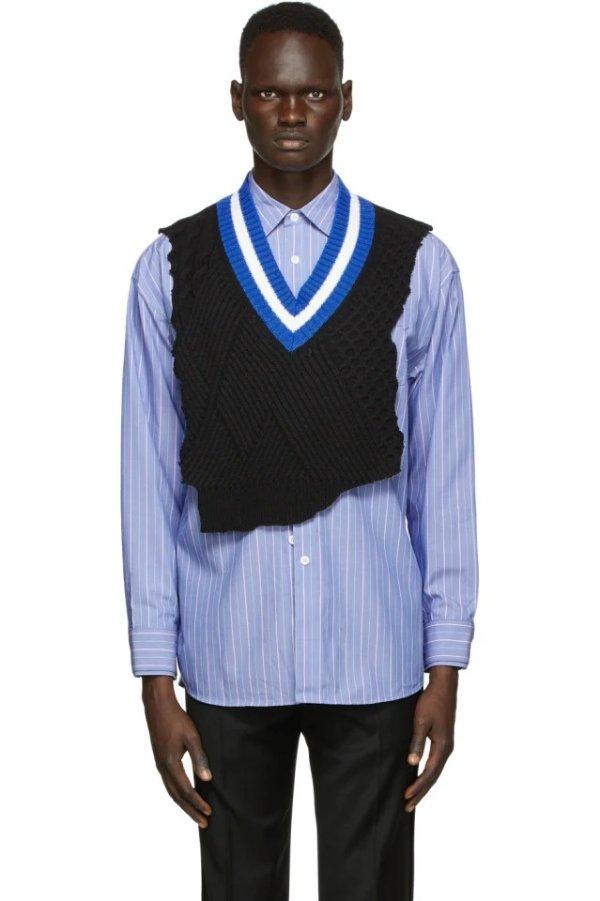 Black Warning Vest