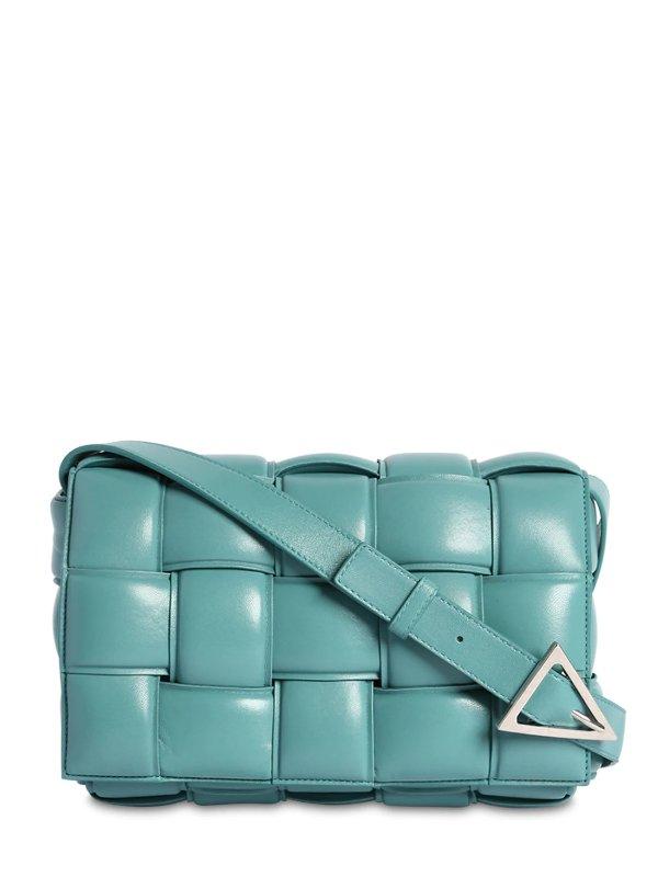 蓝色枕头包