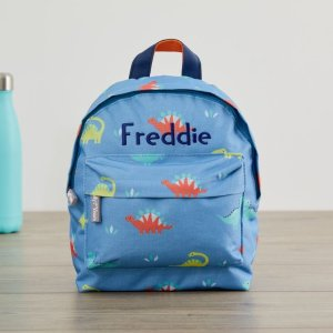 My 1st YearsPersonalized Colorful Dinosaur Mini Backpack Welcome %1