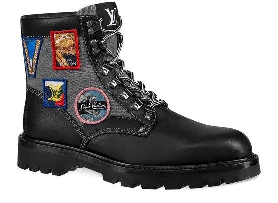Oberkampf 男士踝靴