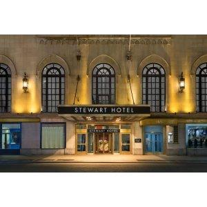 旧金山往返纽约+3晚斯图尔特酒店