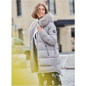 DKNY保暖外套