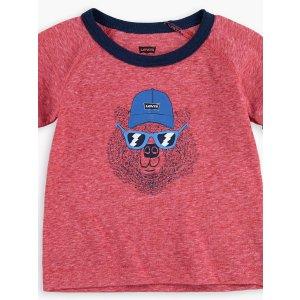 Levi's婴儿小熊T恤