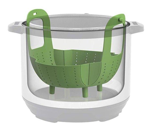 Instant Pot 配套硅胶蒸笼篮,6/8夸脱均可使用