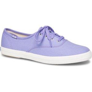 Keds香芋紫帆布鞋