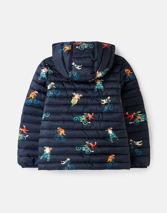 儿童可压缩保暖连帽外套