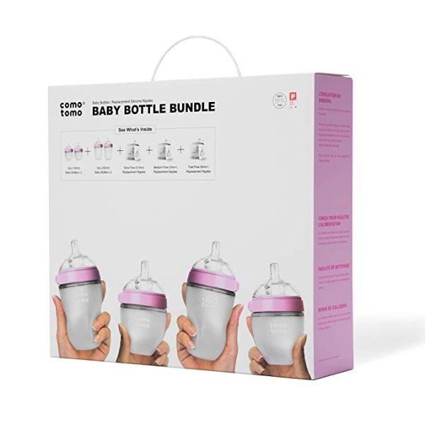 奶瓶套装 粉色