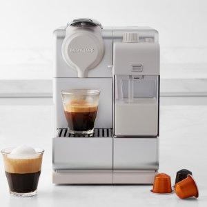 低至5.3折 Plus $174;Touch $254史低价:Nespresso Lattissima系列 全自动奶泡意式咖啡机
