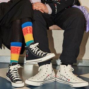 最大35码 小个子可穿Converse Chuck 70 大童款爱心帆布鞋
