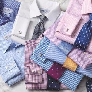 衬衫$28包邮Charles Tyrwhitt 伦敦高端商务男士经典半定制衬衫热卖