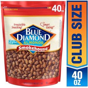 Blue Diamond Almonds烧烤口味美国大杏仁  2磅装