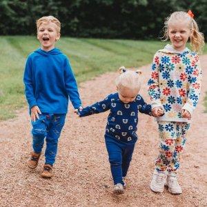 5折折扣升级:Hanna Andersson 秋季新款童装促销,有卫衣和针织开衫