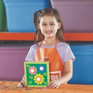 制作 艺术画送妈妈预告:5月 Home Depot 免费的儿童手工活动