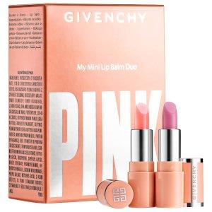 $25(价值$40)Givenchy粉色迷你小羊皮唇膏套装