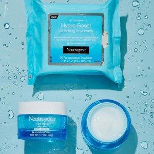 低至6折 卸妆巾€1.5/包Prime Day 狂欢价:Neutrogena 露得清 高效补水系列 夏日清爽护肤