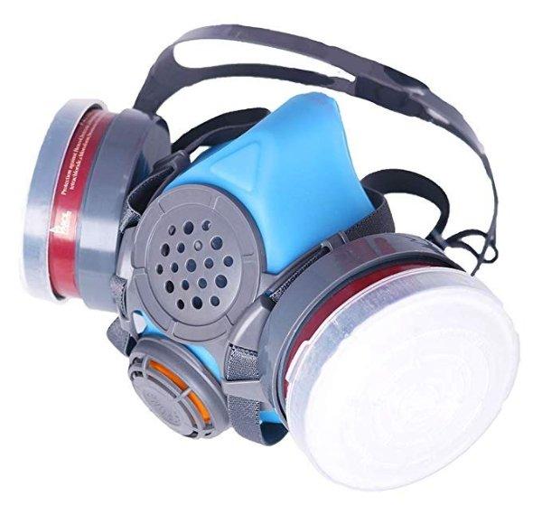 T-60 口部呼吸过滤罩 含2个N95 过滤器