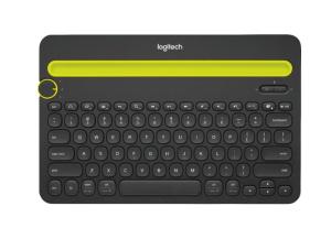 Logitech - K480 Bluetooth Multidevice Keyboard - Black