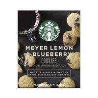 Starbucks 搭配咖啡小饼干 柠檬蓝莓口味 4盒装