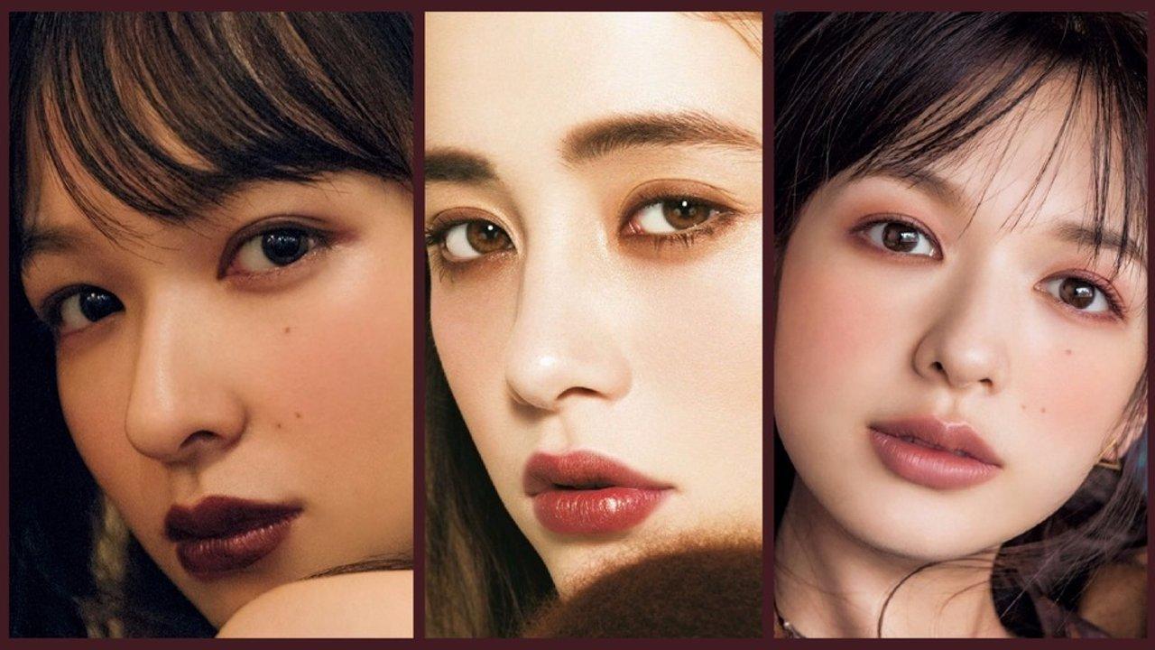 日杂图鉴 | 和日系麻豆小姐姐们学化妆