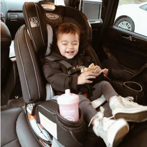 $249.99包邮(原价$399.99)Graco Extend2Fit Platinum 双向儿童安全座椅 经严格安全测试