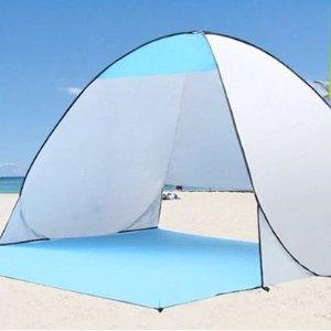 $33.95(原价$39.95) 免邮便携式简易户外帐篷 适合夏季沙滩 公园野餐遮阳 防水+防紫外线