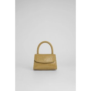 by FARMini Yellow Lizard Embossed Leather