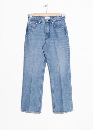 High Cropped Flare Jeans