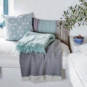 额外8折 评论抽奖$500礼卡独家:Urbanara 官网天然有机高品质家纺热卖  收地毯、毛毯、毛巾