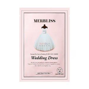 韩国MERBLISS茉贝丽思 补水保湿美白提亮婚纱面膜 单片入